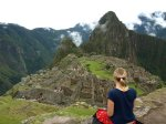 Machu Piccu in Peru – just one of the amazing places I travelled to.